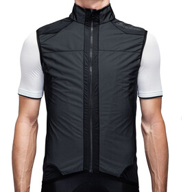 Isadore Medio Membrane Gilet Men black